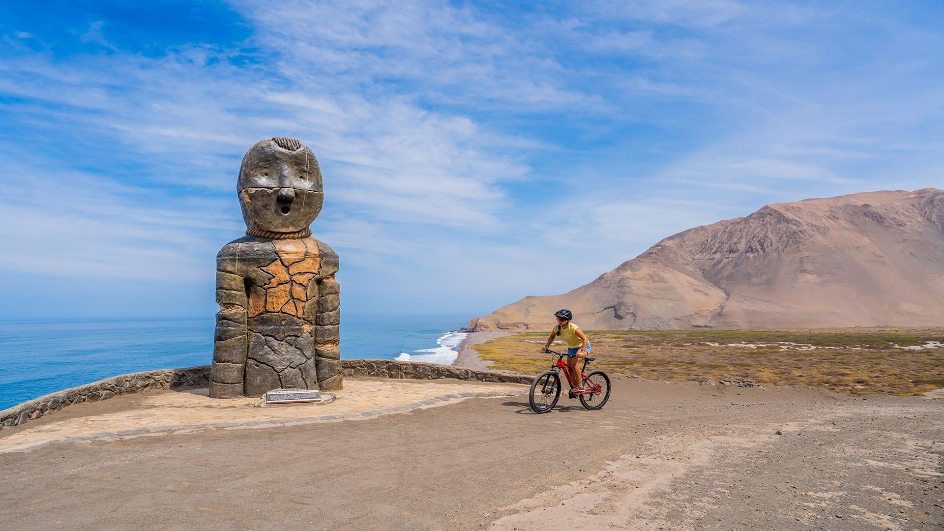 Escultura Cultura Chinchorro Camarones Arica y Parinacota 1