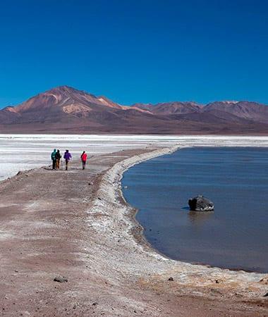 Lagunas Cotacotani Parque Nacional Lauca altiplano de Arica y Parinacota