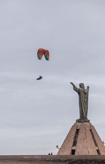 Cristo de la Paz Cima Morro de Arica Chile