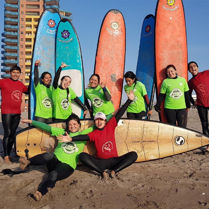 Vive la experiencia del Surf (Clases para principiantes)