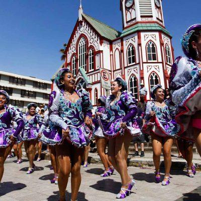 Carnaval con la Fuerza del Sol Arica Caporales