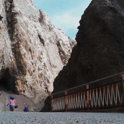 Cuevas de Anzota sendero acceso