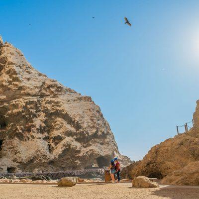 Cuevas de Anzota borde costero de la region de Arica y Parinacota 2