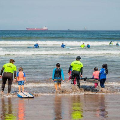 Playa Chinchorro Arica surf adaptado