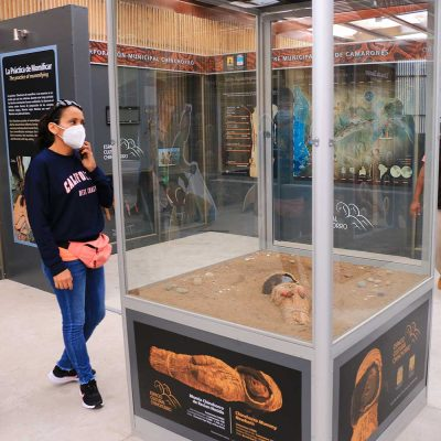 Espacio Cultural Chinchorro muestra Momias Cuya comuna de Camarones - copia