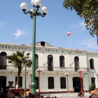Ferrocarrilñ Arica a La Paz Edificio