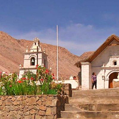 Iglesia Guañacagua Valle de Codpa Comuna de Camarones Arica y Parinacota