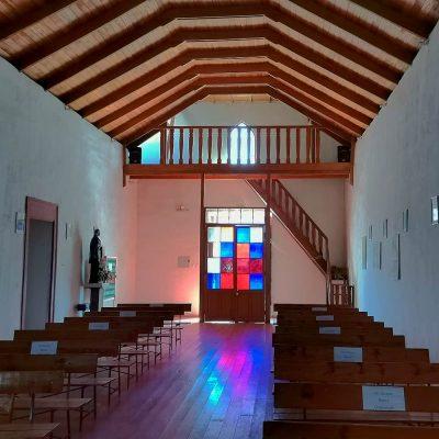 Iglesia Poconchile vista interior II