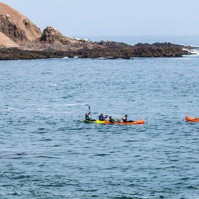 Kayak Cuevas de Anzota kayaks en Playa La Capilla 3