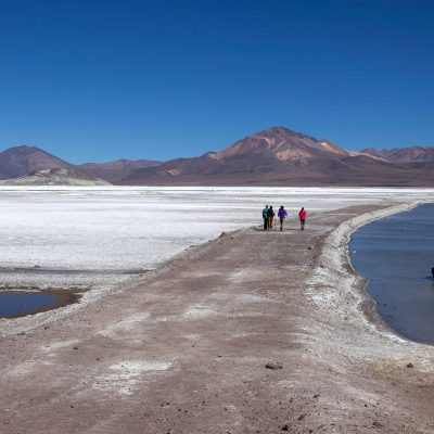 Nevado en parque nacional Lauca altiplano de region de Arica y Parinacota 3