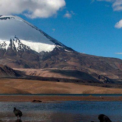 Lago Chungara Nevados Payachatas vista