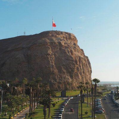 Morro de Arica vista frontal sur