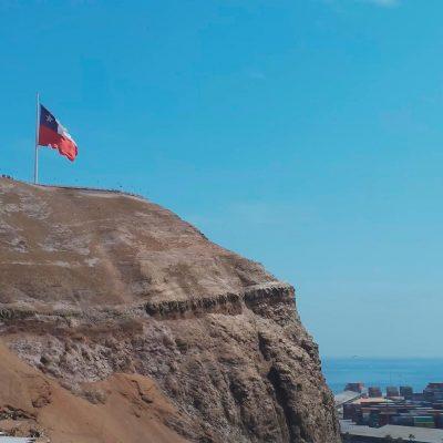 Morro de Arica vista perfil lateral