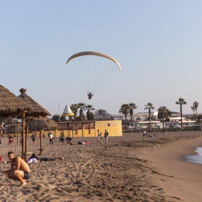Parapente Playa El Laucho