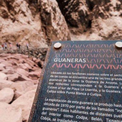 Placa historia Cuevas de Anzota 850x640