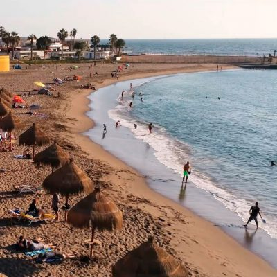 Playa El Laucho Drone