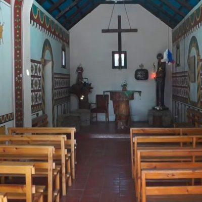 Poblado Artesanal Capilla Don Pío interior