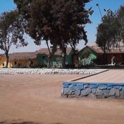 Poblado Artesanal patio central Región de Arica y Parinacota