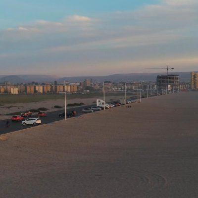 Sector Estacionamientos Playa Las Machas Arica y Parinacota