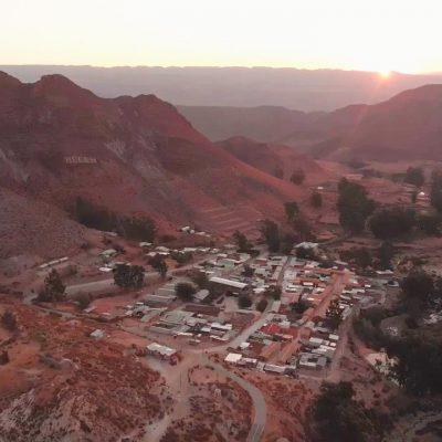 Vista Pueblo de Belén Atardecer