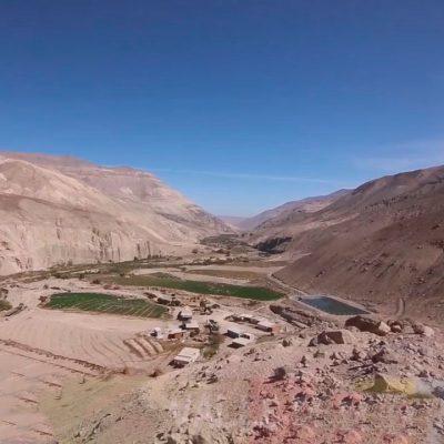 Vista Valle de Camarones desde los cerros
