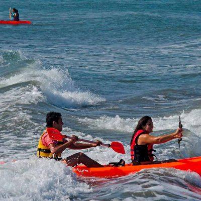 kayaks Borde Costero Arica Playa Chinchorro